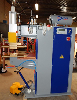 180 KVA Mid Frequency DC Spot Welder for Aluminum Applications